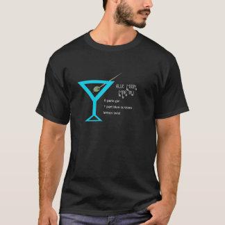 T-shirt Hommes de Martini de lune bleue foncés