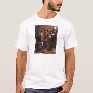 T-shirt Hommes de tabagisme d'Adriaen Brouwer