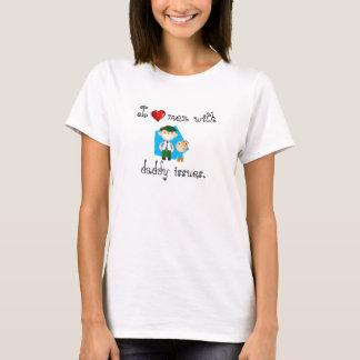 T-shirt Hommes du coeur I avec des questions de papa