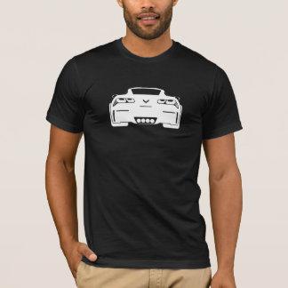 T-shirt Hommes foncés graphiques de Chevrolet Corvette