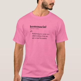 T-SHIRT HOMOSOCIAL