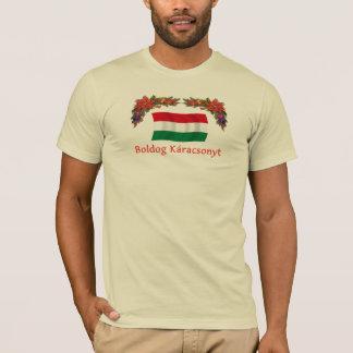 T-shirt Hongrois Boldog Karacsonyt
