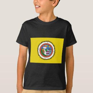 T-shirt Honolulu-drapeau