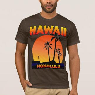 T-shirt Honolulu Hawaï