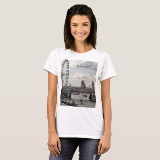 T-shirt Horizon de Londres Angleterre, Big Ben, oeil de