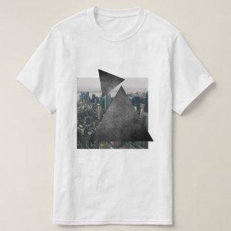T-shirt Horizon géométrique de ville