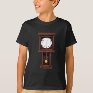 T-shirt Horloge de pendule antique
