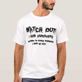 T-shirt Horreur d'Aspie