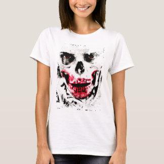 T-shirt Horreur déplaisante d'homme de zombi de visage de