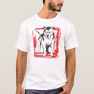 T-shirt Hors du pitbull de boîte