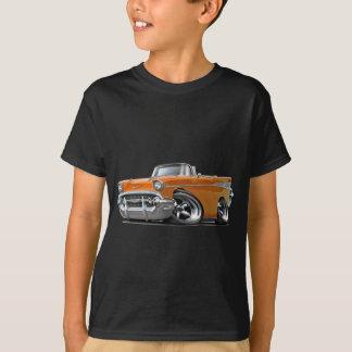 T-shirt Hot rod 1957 convertible orange de Chevy Belair