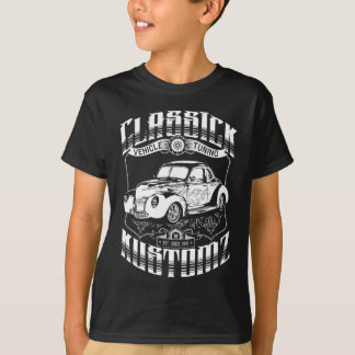 T-shirt Hot rod - Classick Kustomz (blanc)