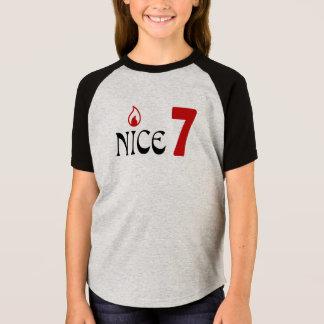 T-shirt HQH d'anniversaire de 7 ans de la fille