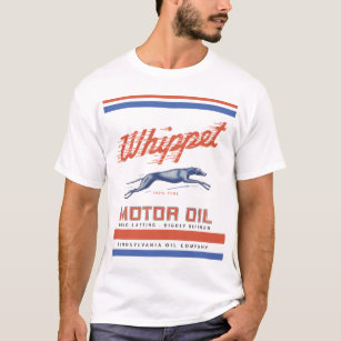 T-shirt Huile de moteur de whippet