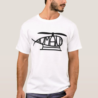 T-shirt Human´s helicopter