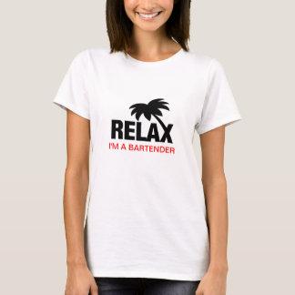 T-shirt humoristique pour des barmans avec