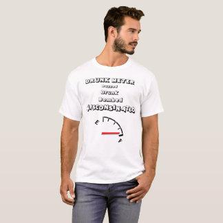T-shirt Humour d'alcool de mètre bu par Wisconsin