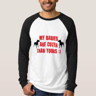 T-shirt Humour de chien de Pitbull