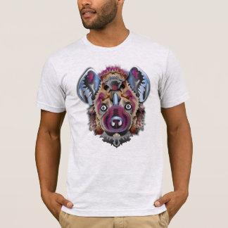 T-shirt Hyène colorée