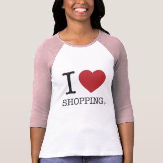T-shirt I achats de coeur