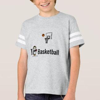 T-shirt I basket-ball de coeur !