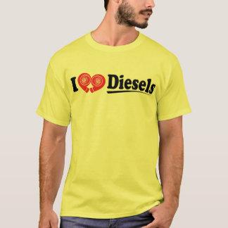 T-shirt I chemise de diesel de coeur