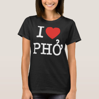 T-shirt I coeur (amour) Pho
