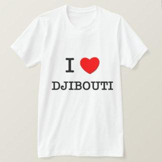 T-SHIRT I COEUR DJIBOUTI