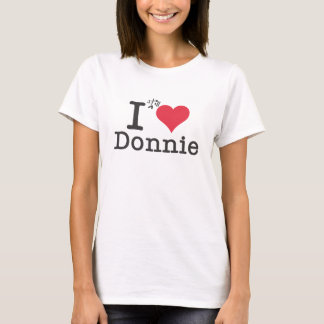 T-shirt I coeur Donnie