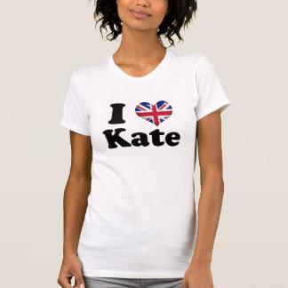 T-shirt I coeur Kate
