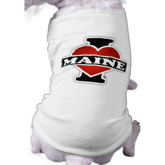 T-shirt I coeur Maine