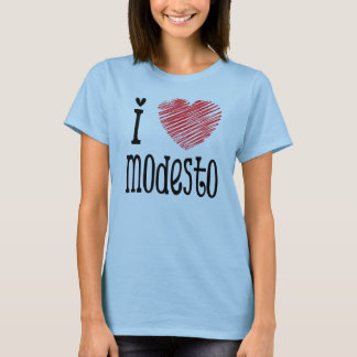 T-shirt I coeur Modesto