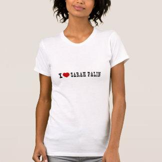 T-shirt I (coeur) Sarah Palin