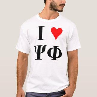 T-shirt I (coeur) Sci fi