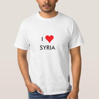 T-shirt i coeur Syrie