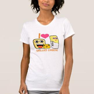 T-shirt I fromage grillé par coeur