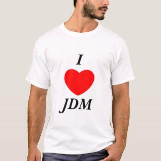 T-shirt I <heart> JDM