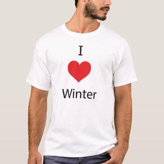 T-shirt I Love hiver