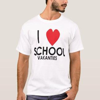 T-shirt I LOVE les vacances scolaires
