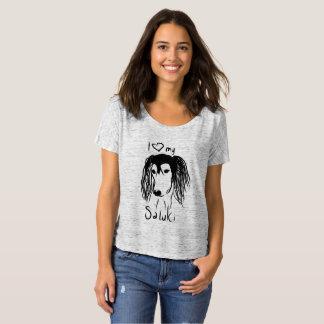 T-shirt I love my saluki