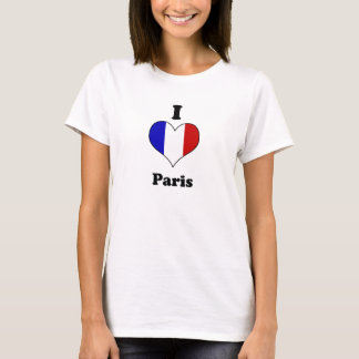 T-shirt I Paris love