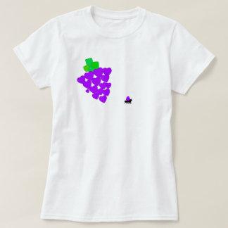 T-shirt I raisins de coeur