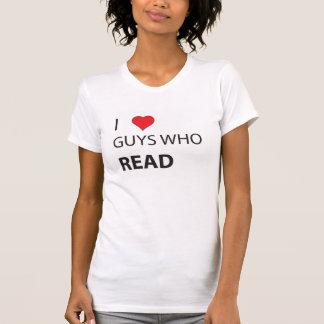 T-shirt I types de coeur qui ont lu
