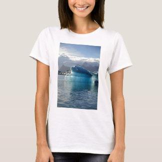 T-shirt Iceberg bleu