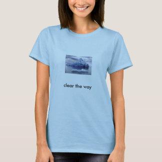 T-shirt Iceberg, espace libre la manière