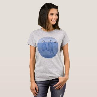 T-shirt Icebergs chemisette femme