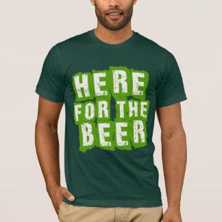 T-shirt ICI pour la BIÈRE !