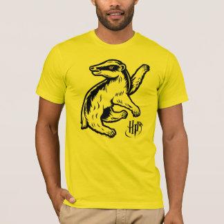 T-shirt Icône de blaireau de Harry Potter   Hufflepuff