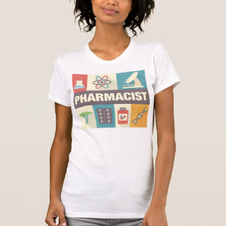 T-shirt Iconique professionnel de pharmacien conçu