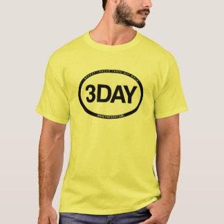 T-shirt Identi-Pièce en t du coton des hommes